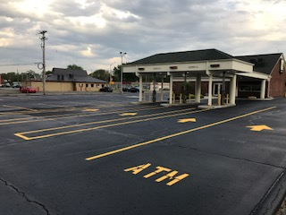 Glass Beading Striping Services Taylor MI - Action Pavement Striping - parking-lot-striping(1)