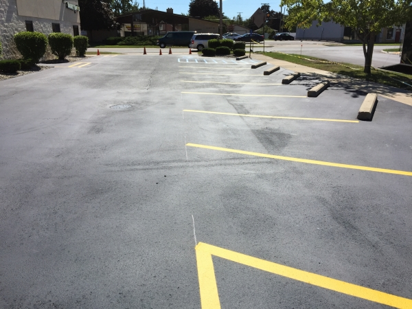 Parking Lot Painting Services Monroe MI - Action Pavement Striping - pavement-marking-services