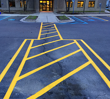 Commercial Striping Services Romulus MI - Action Pavement Striping - sub-content