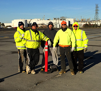 Michigan Parking Lot Striping | Action Pavement Striping & Maintenance - team